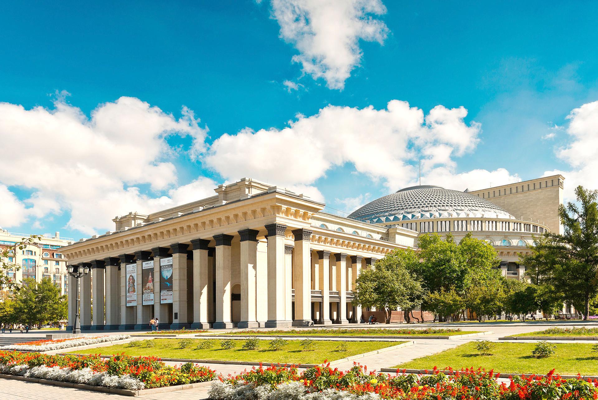 Театарот на драма и балет во Новосибирск