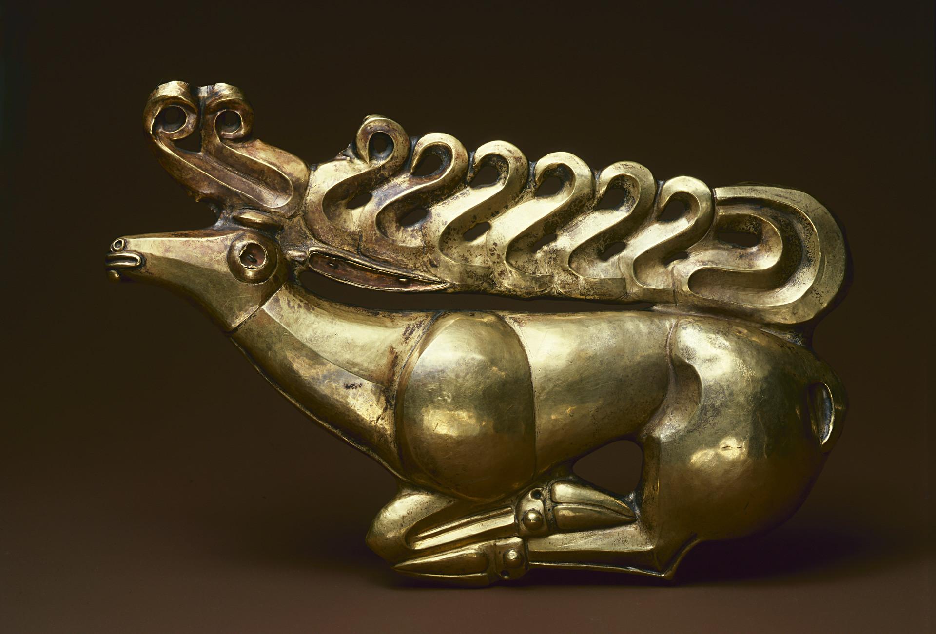 「黄金のヘラジカ」、紀元前6世紀
