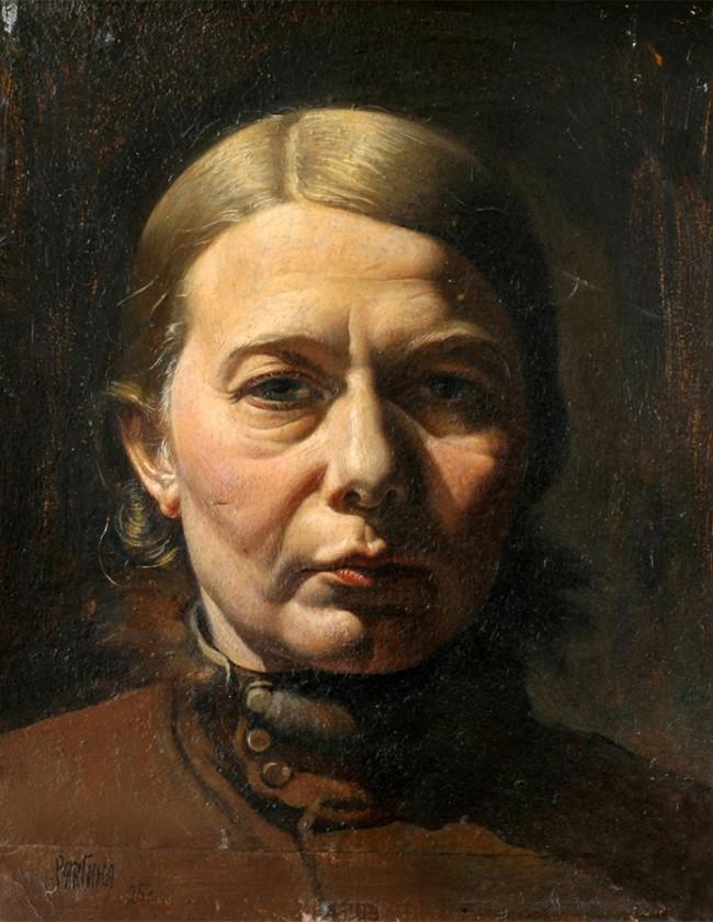 Autoportrait à la lumière du jour, 1924