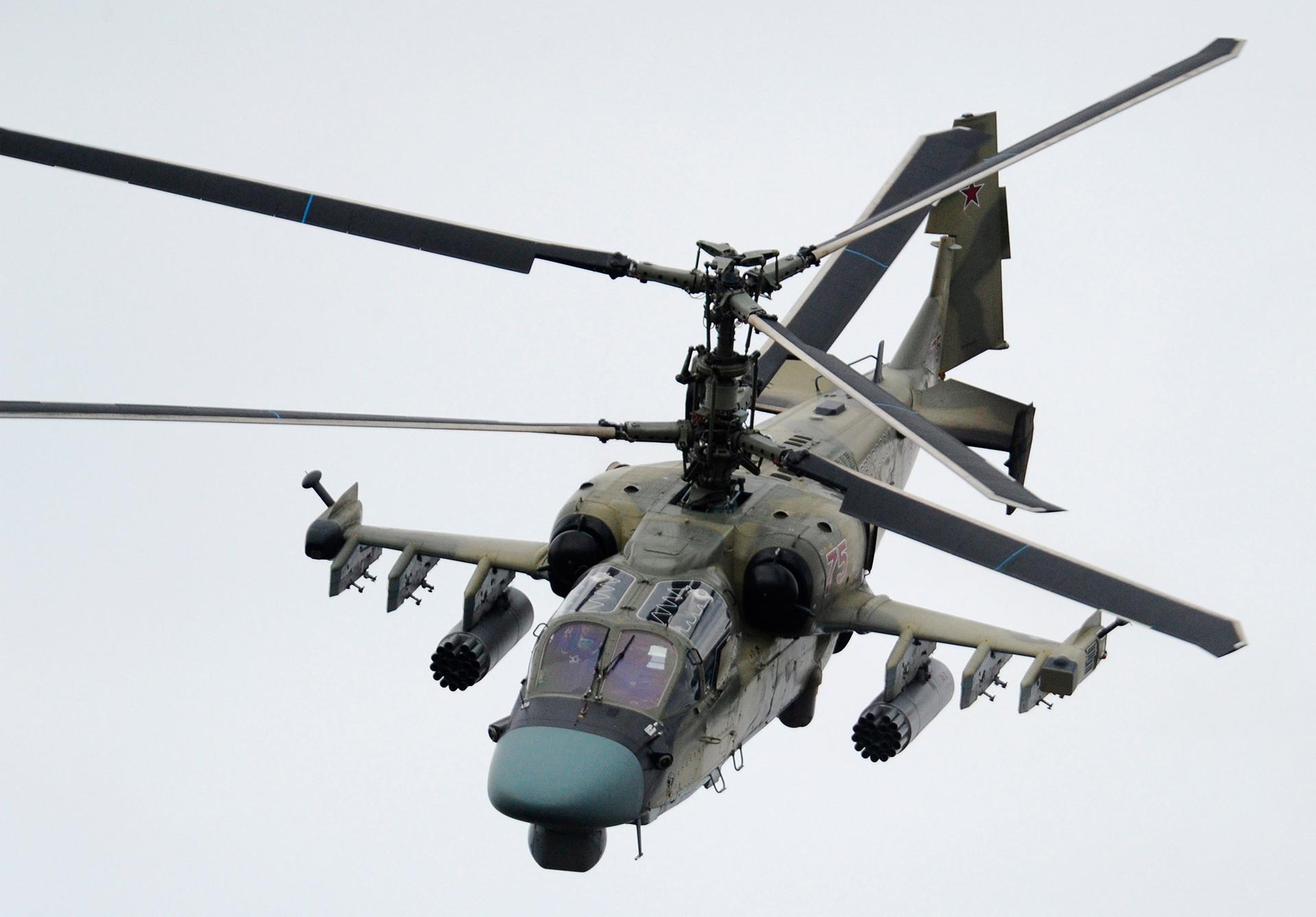 Borbeni helikopter Ka-52