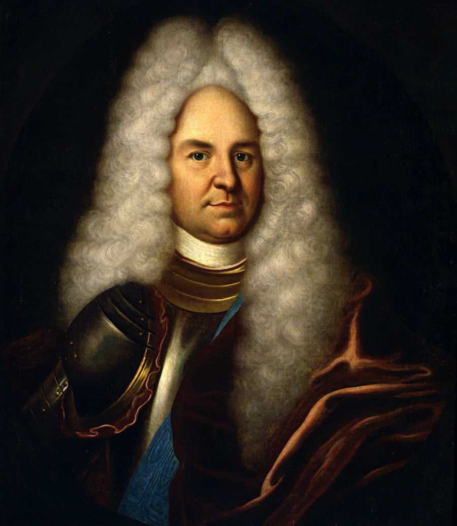 Ritratto del generale Patrick Gordon