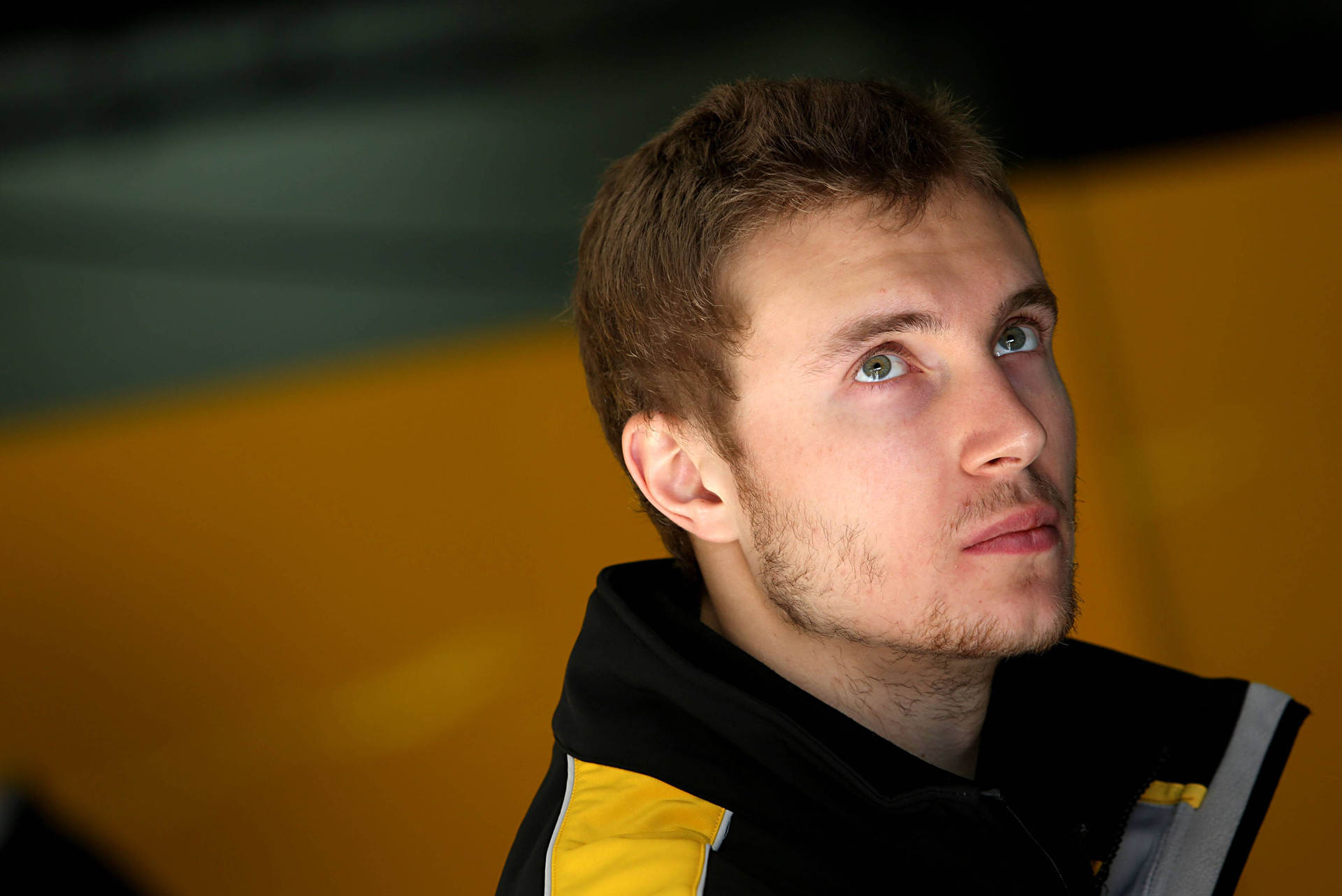 Sirotkin during F1 Testing in Barcelona, June 2017.