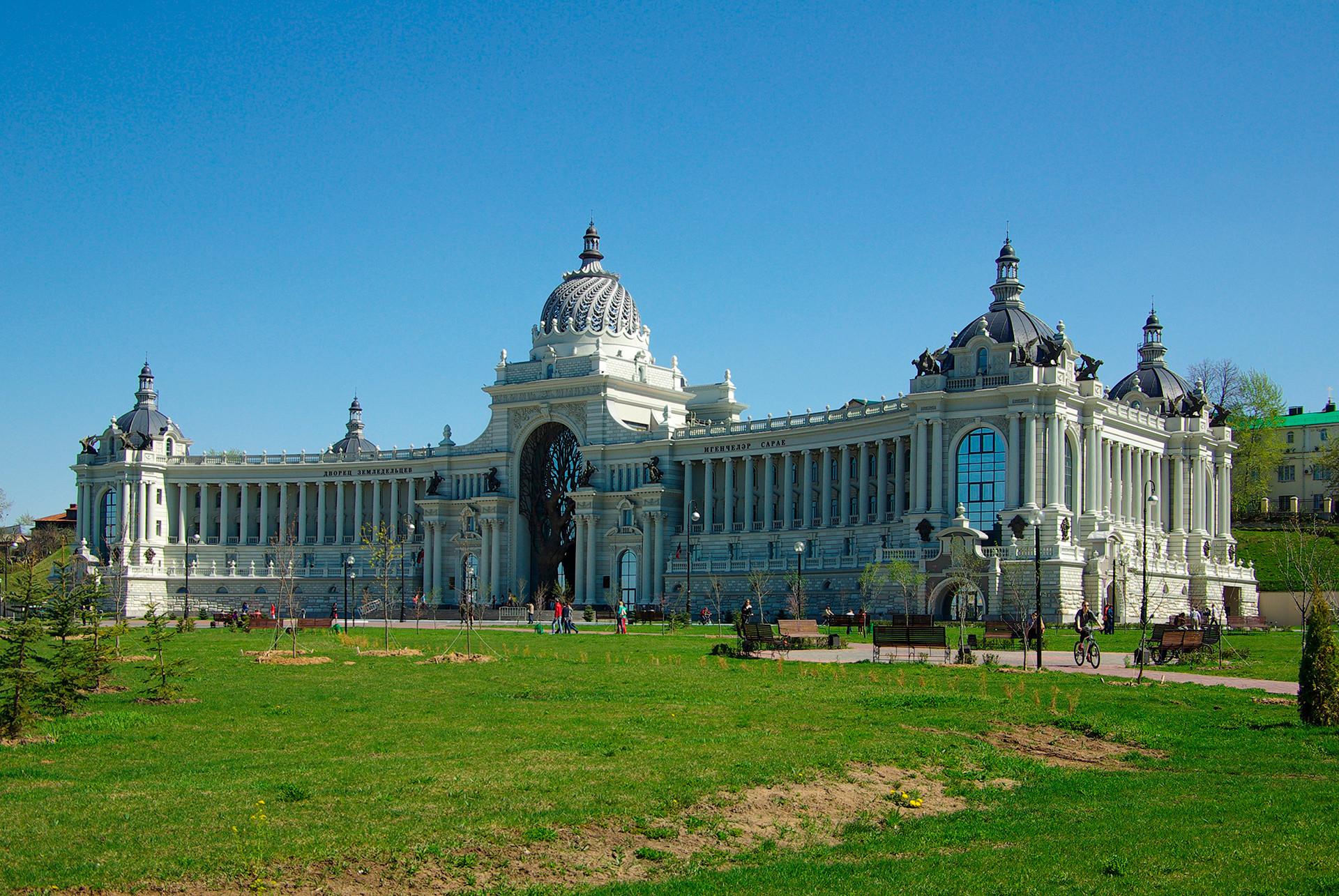 Palača poljedelcev, danes sedež Ministrstva za kmetijstvo Republike Tatarstan.