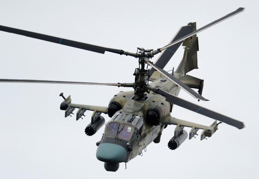 Helikopter Ka-52 Aligator.