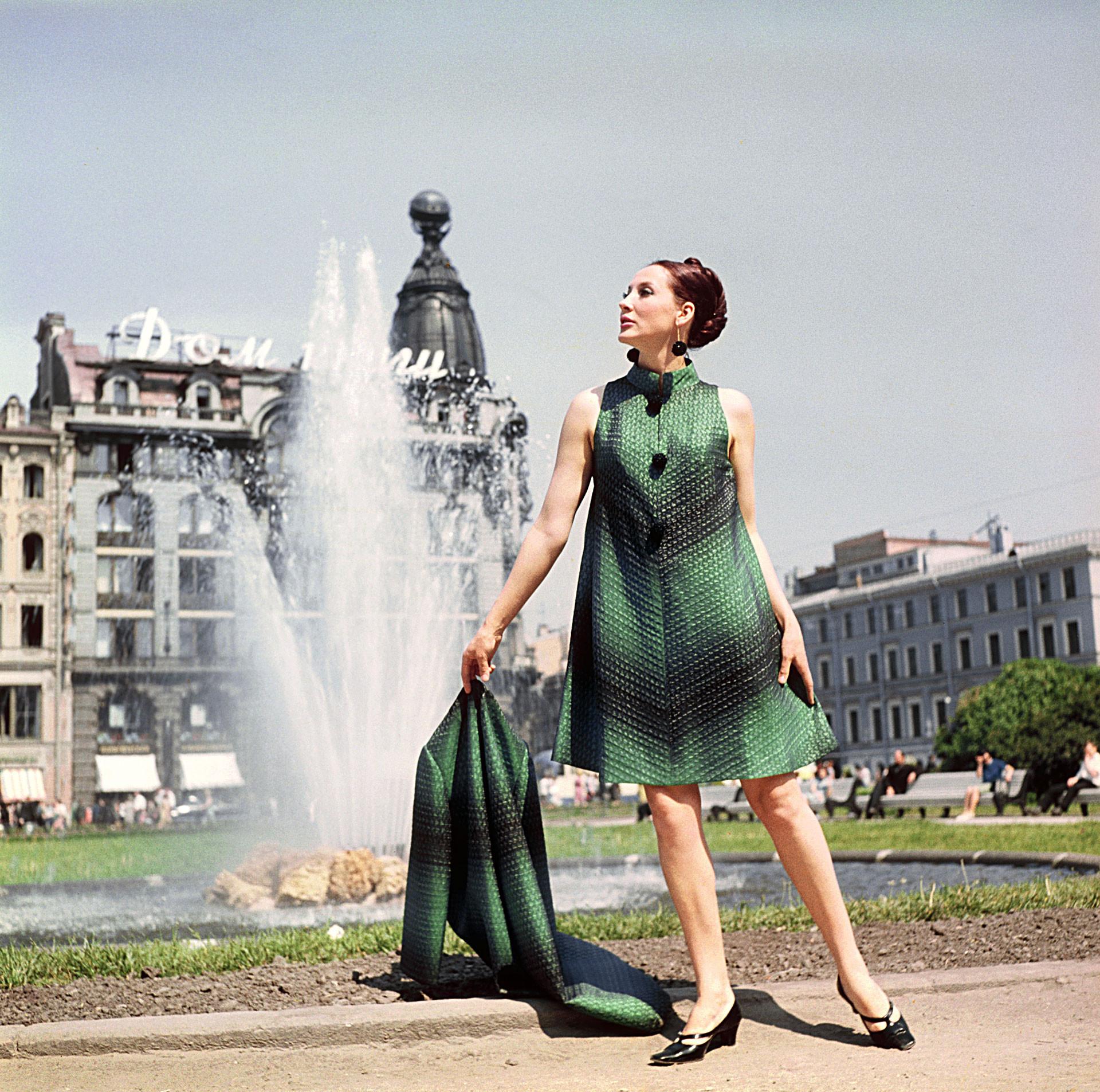 Manteau et robe de soirée, 1968