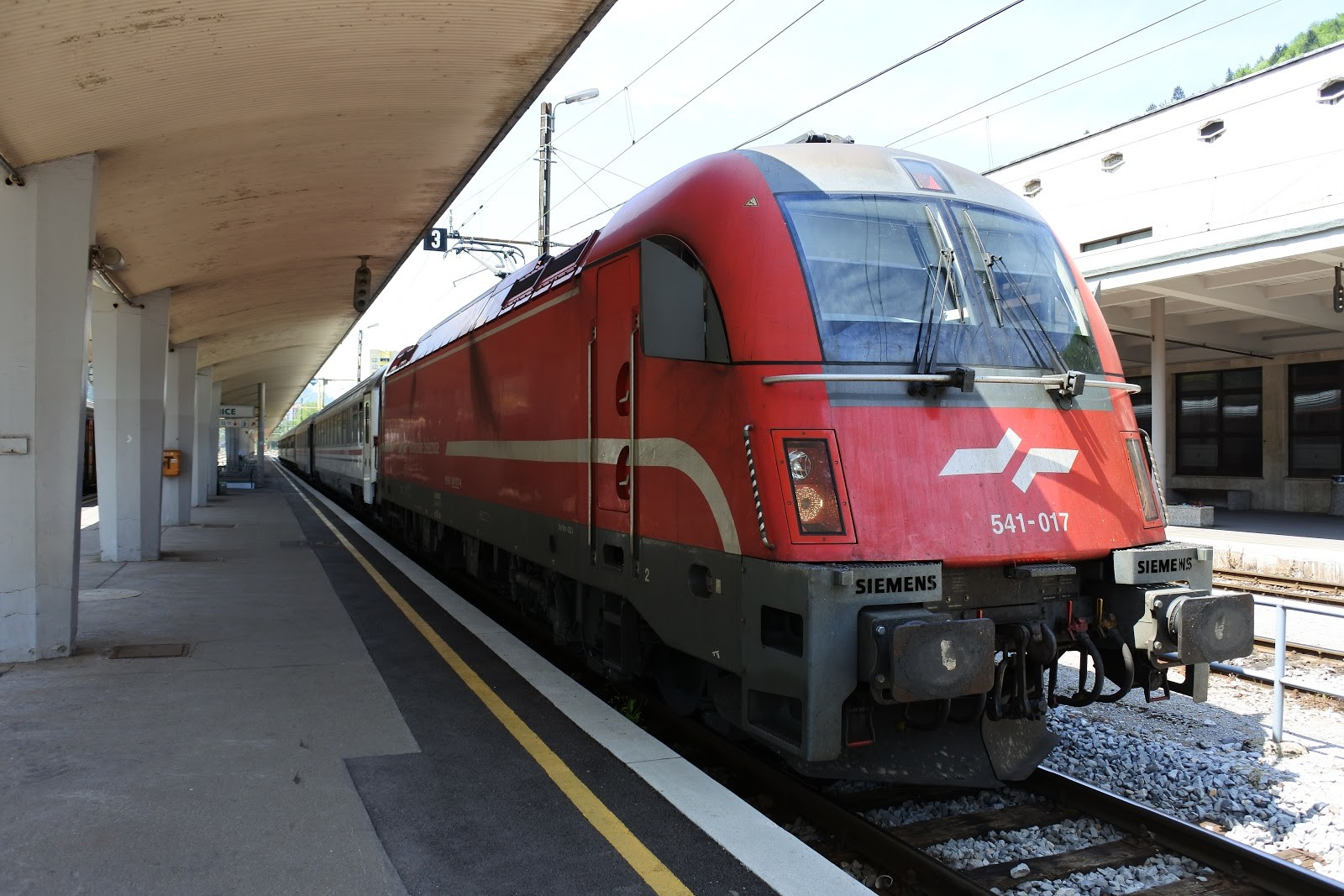 Vlak do Ljubljane