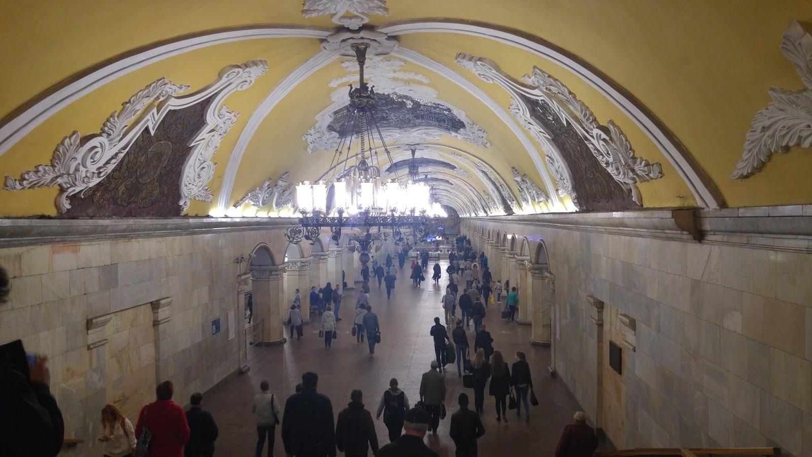 Postaja metroja v Moskvi