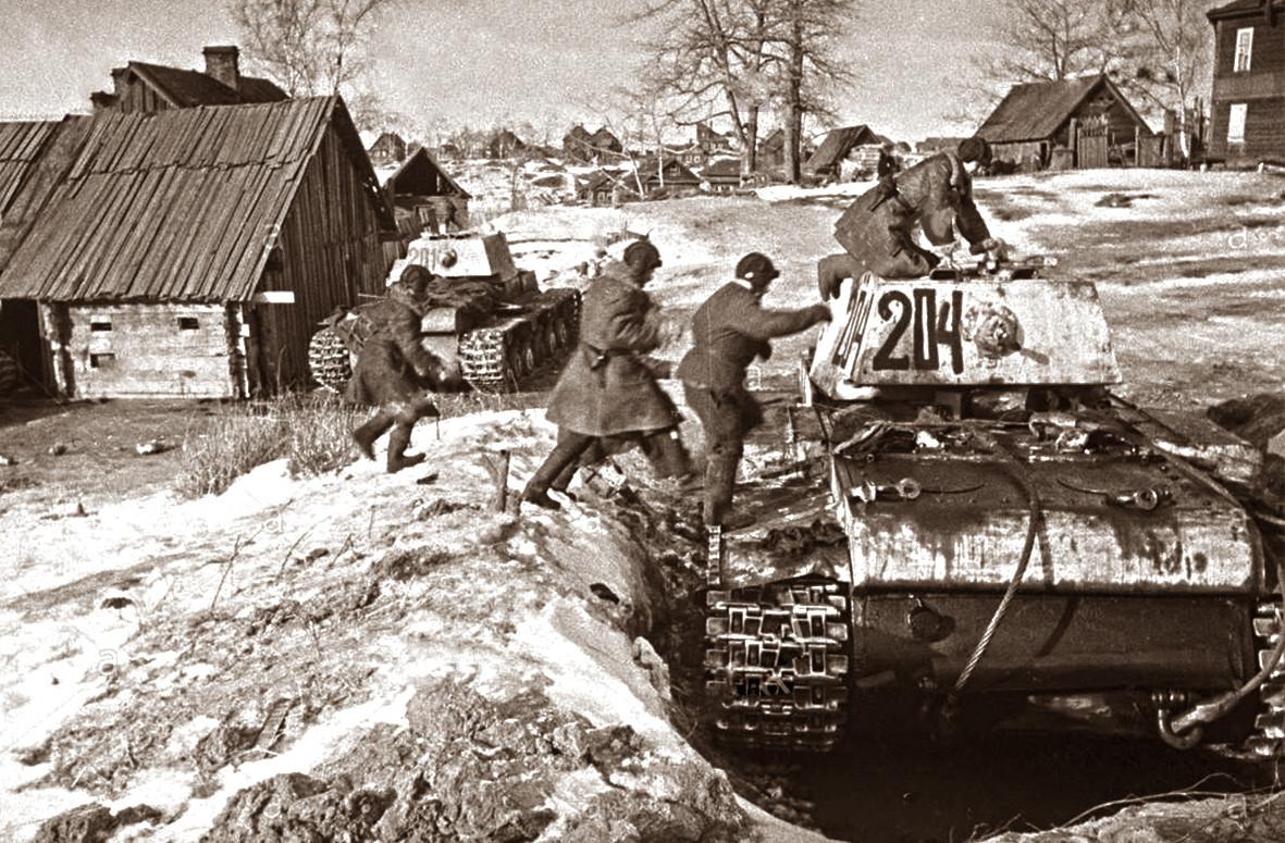 """Јединице Лењинградског фронта пред почетак операције """"Искра"""""""