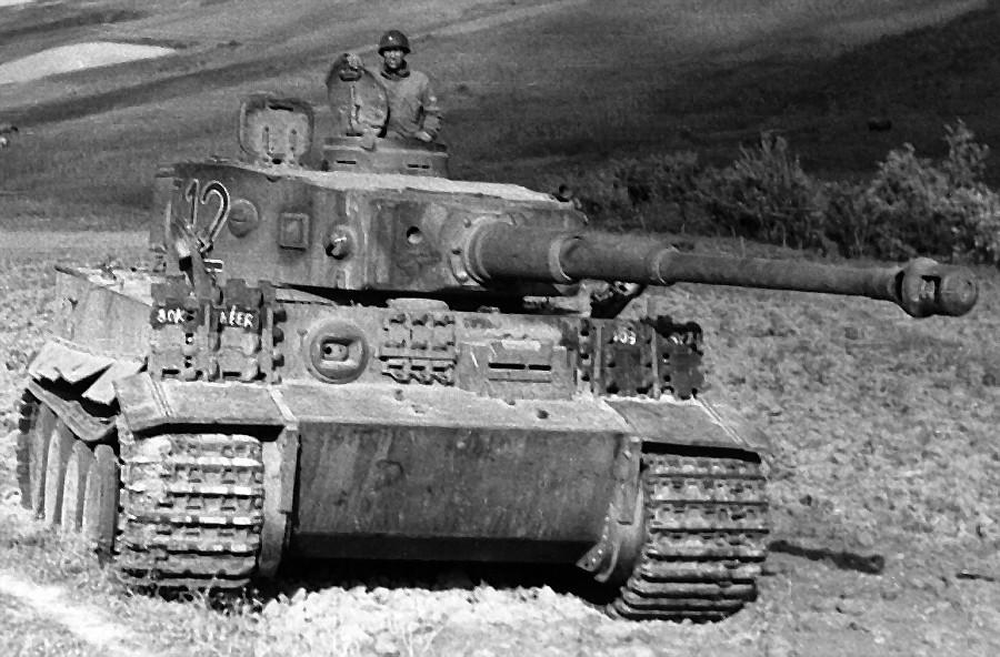 """Немачки тешки тенк Pz.Kpfw.VI """"Тигар"""""""