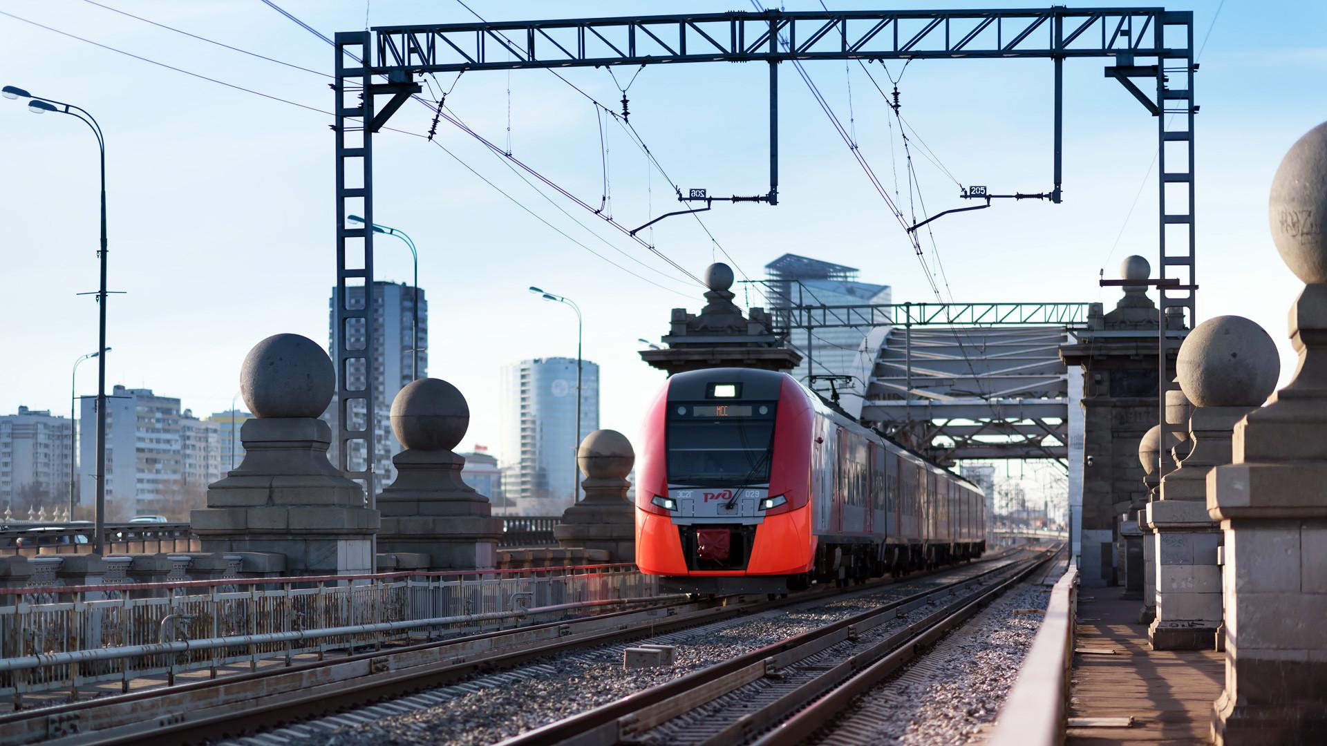 「ラストチカ」列車