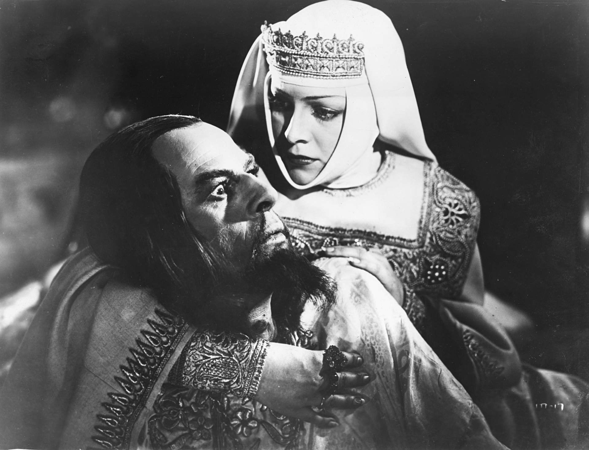 The scene from 'Ivan the Terrible' (1944).