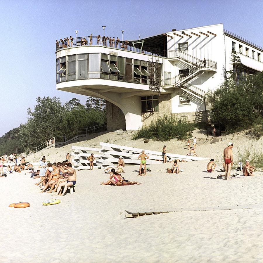 ユールマラのビーチ、ラトヴィア