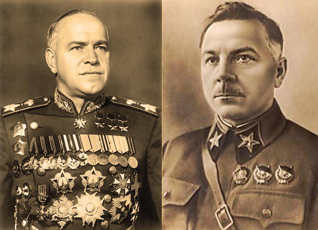 Maršali Crvene armije Georgij Žukov i Kliment Vorošilov odobrili su plan