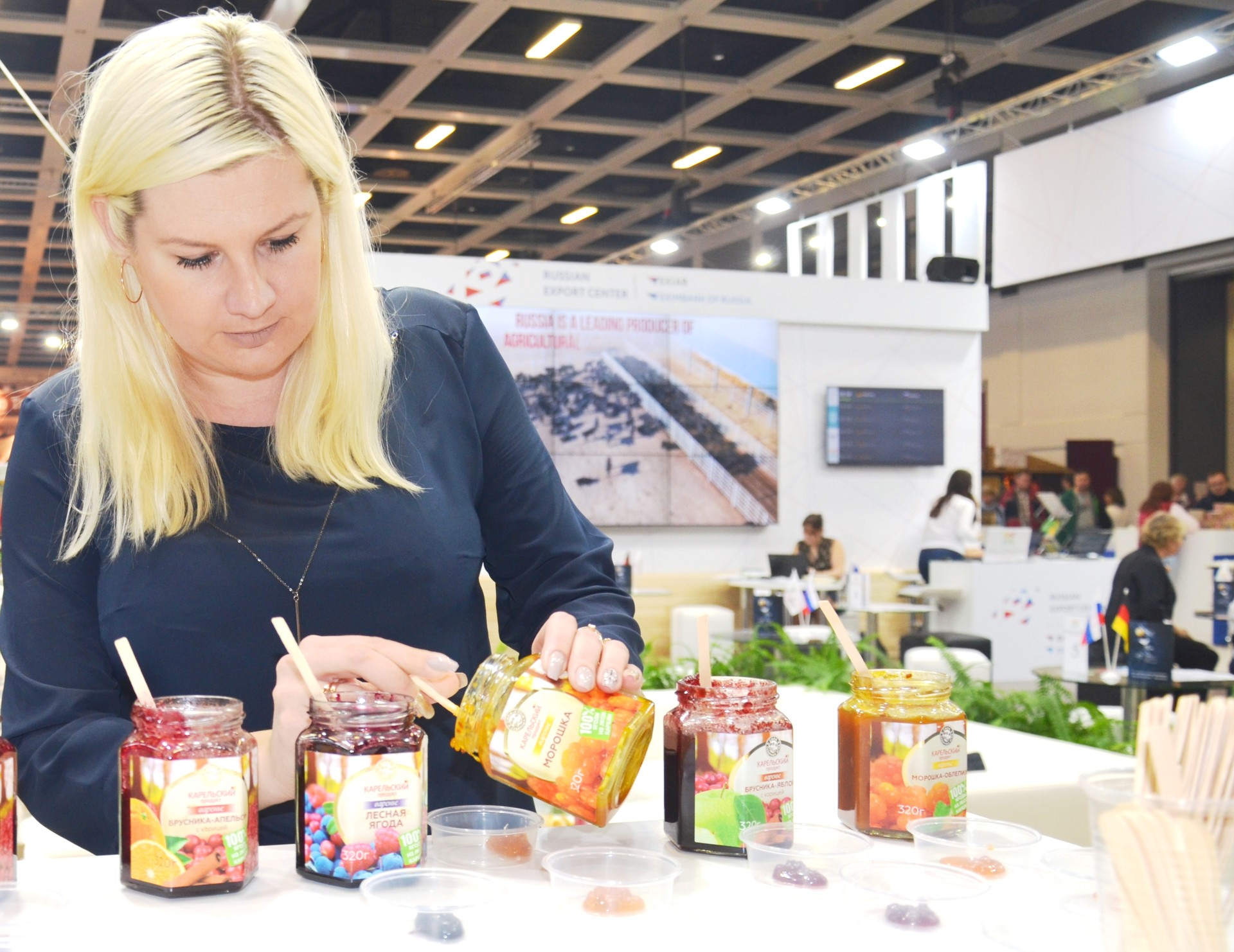 """Inna Maksimowitsch von """"Karelian Ressource"""":"""