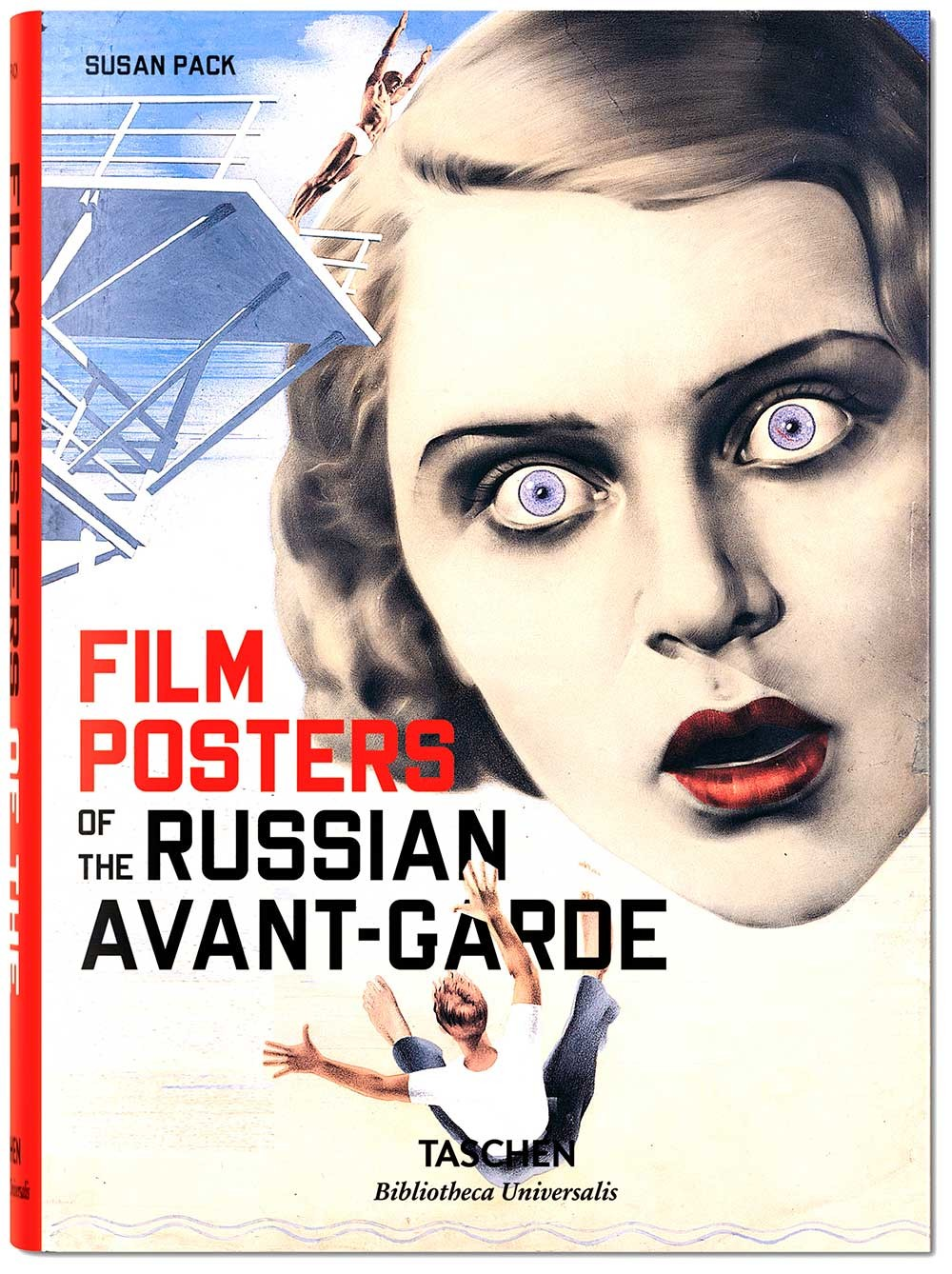 Book cover - Filmposters of the Russian Avant-Garde
