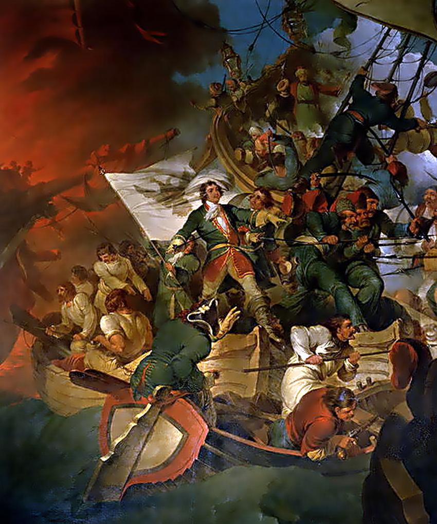 Zavzetje Azova leta 1696.