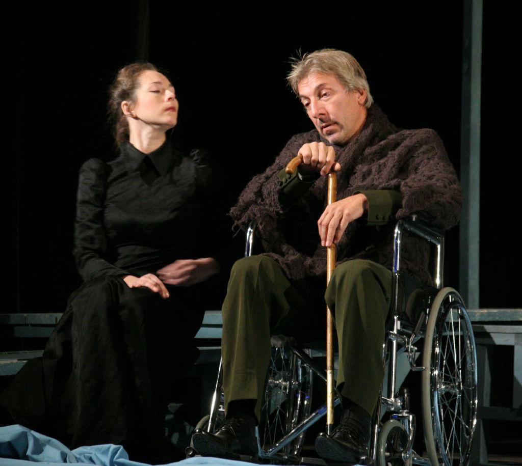 Galeb v Dramskem gledališču Saratov, Rusija