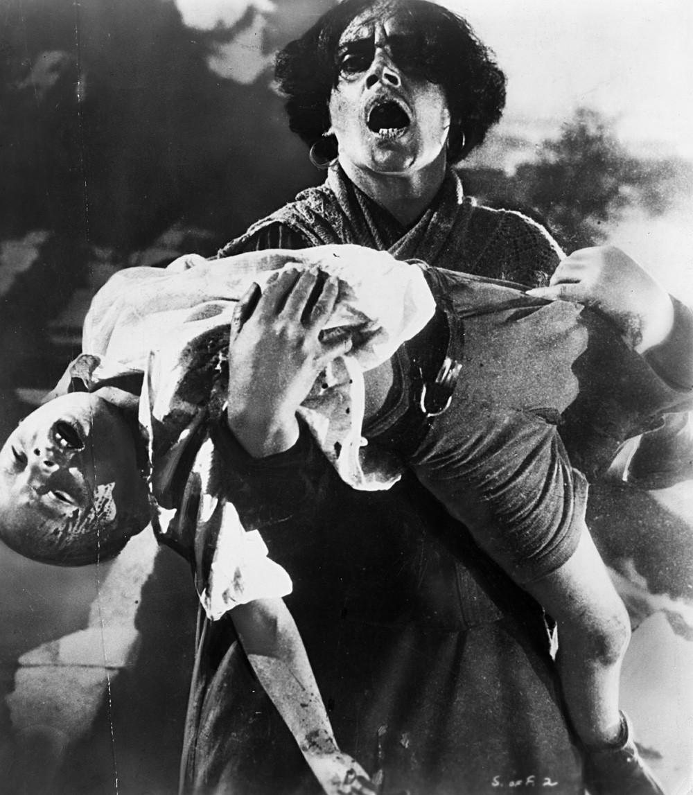 Fotograma de la película 'El Acorazado Potemkin'.