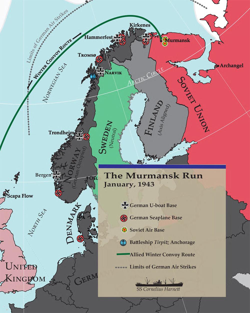 Карта Џошуе Смита.