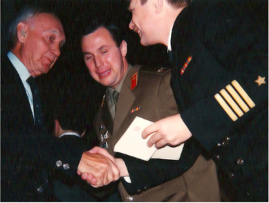 Proslava vročanja odlikovanj, veleposlaništvo Ruske federacije v Washingtonu, 8. december 1992.