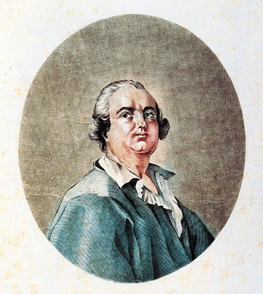 Count Cagliostro. Engraving. Paris, Bibliothèque Polonaise De Paris Societé Historique Et Litteraire Polonaise