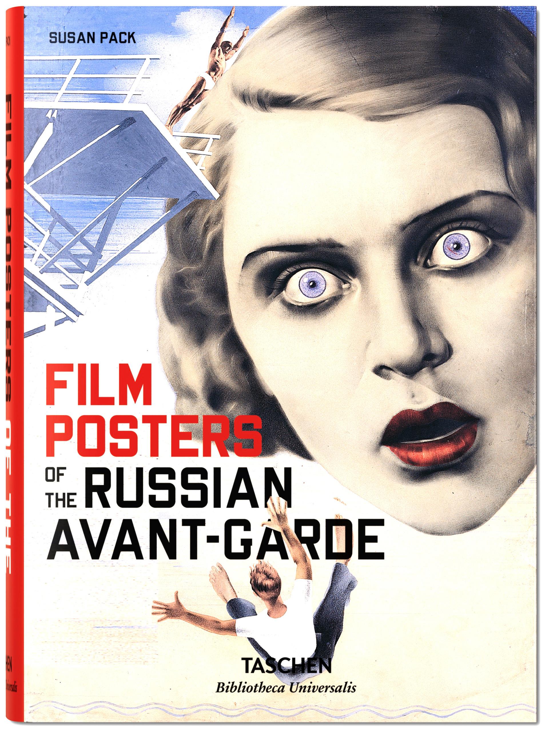 """Capa do livro """"Pôsteres de Cinema da Vanguarda Russa"""""""