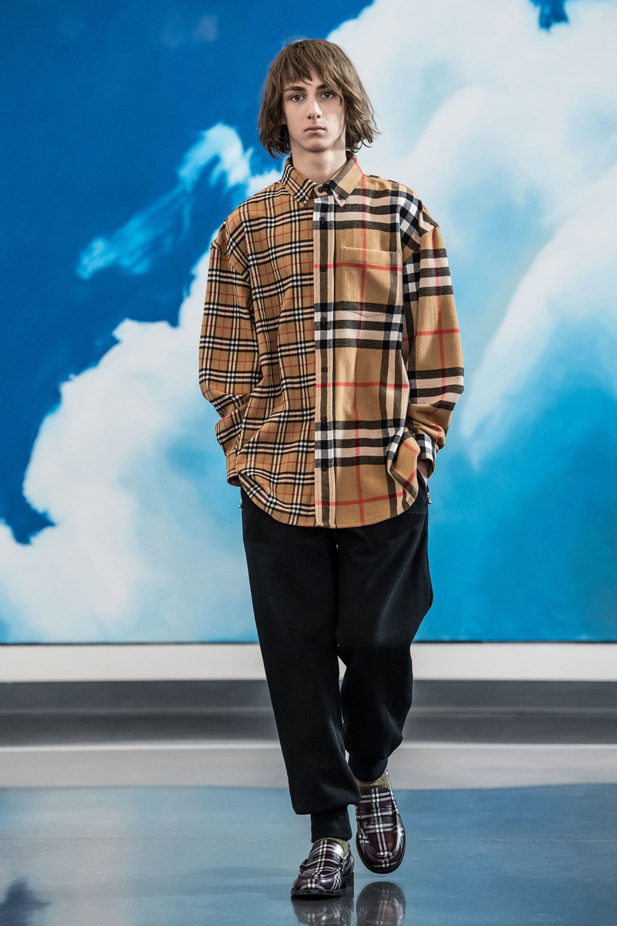 Gosha Rubchinskiy for Burberry.