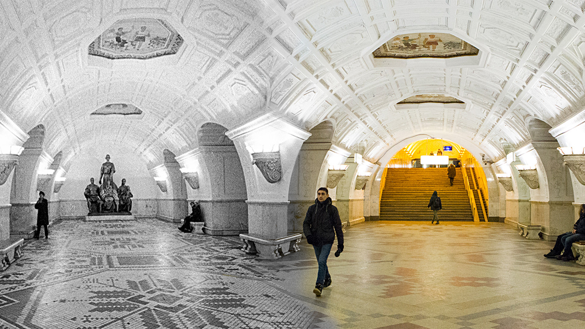 During the construction of the Moscow metro, mortality and injuries decreased by 30 percent 74
