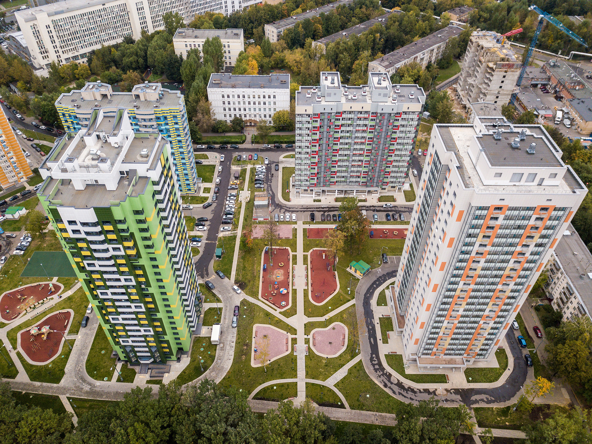 Someone from the provinces can only imagine buying property in Moscow in a different life