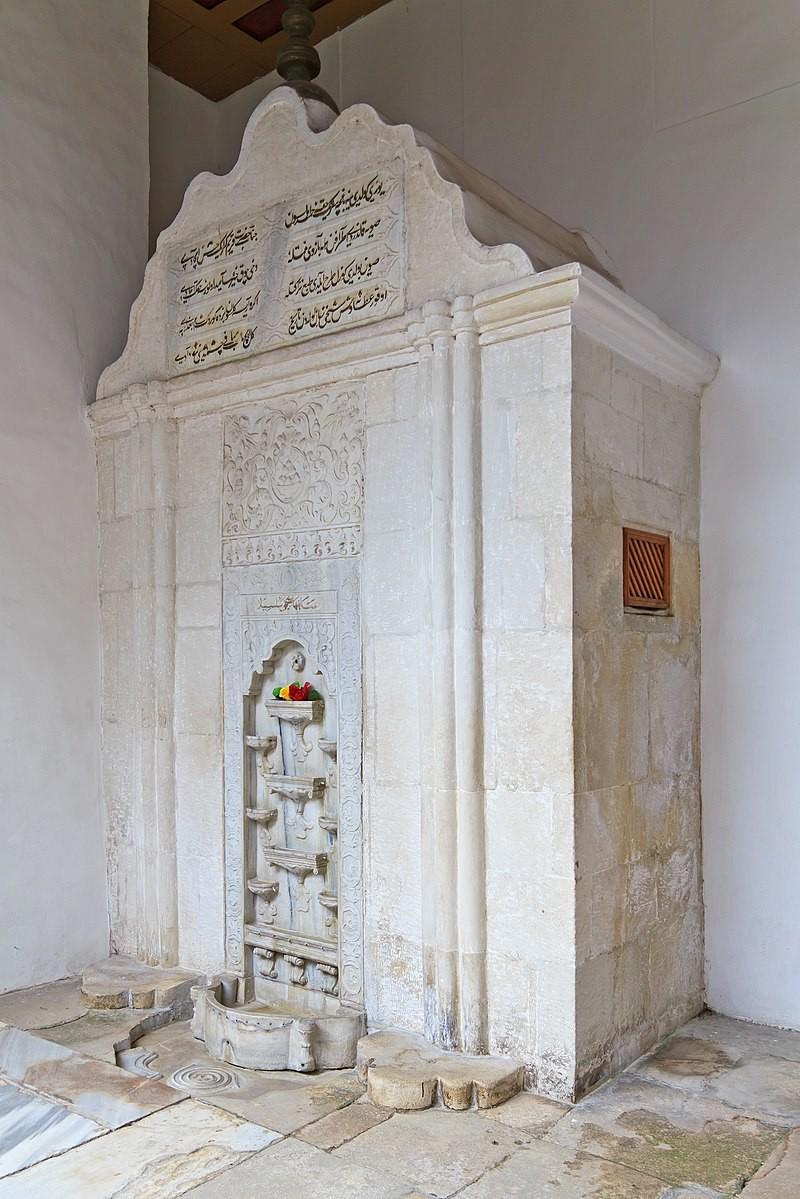 Fontana solza, ki ji je Puškin posvetil znano pesnitev Bahčisarajska fontana