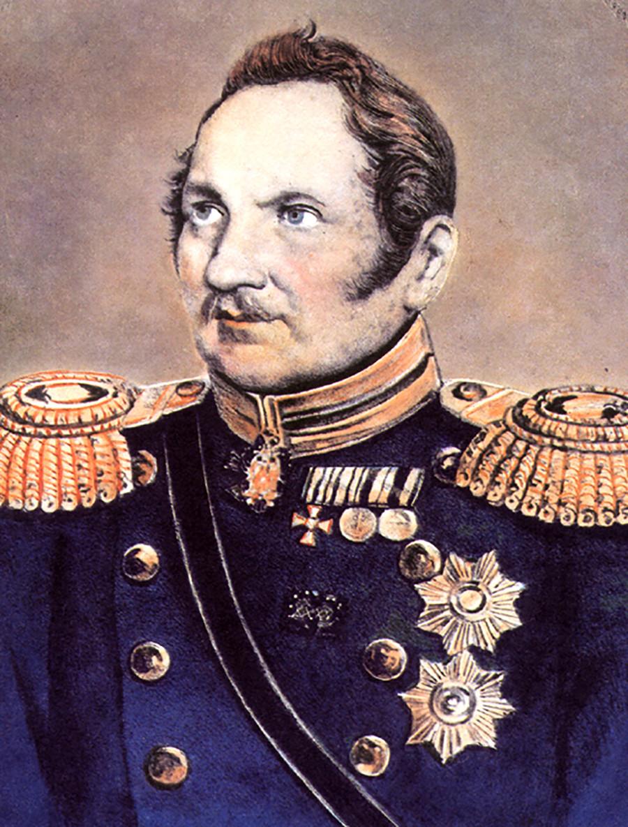 Faddey Bellingshausen lideró la expedición a la Antártida.