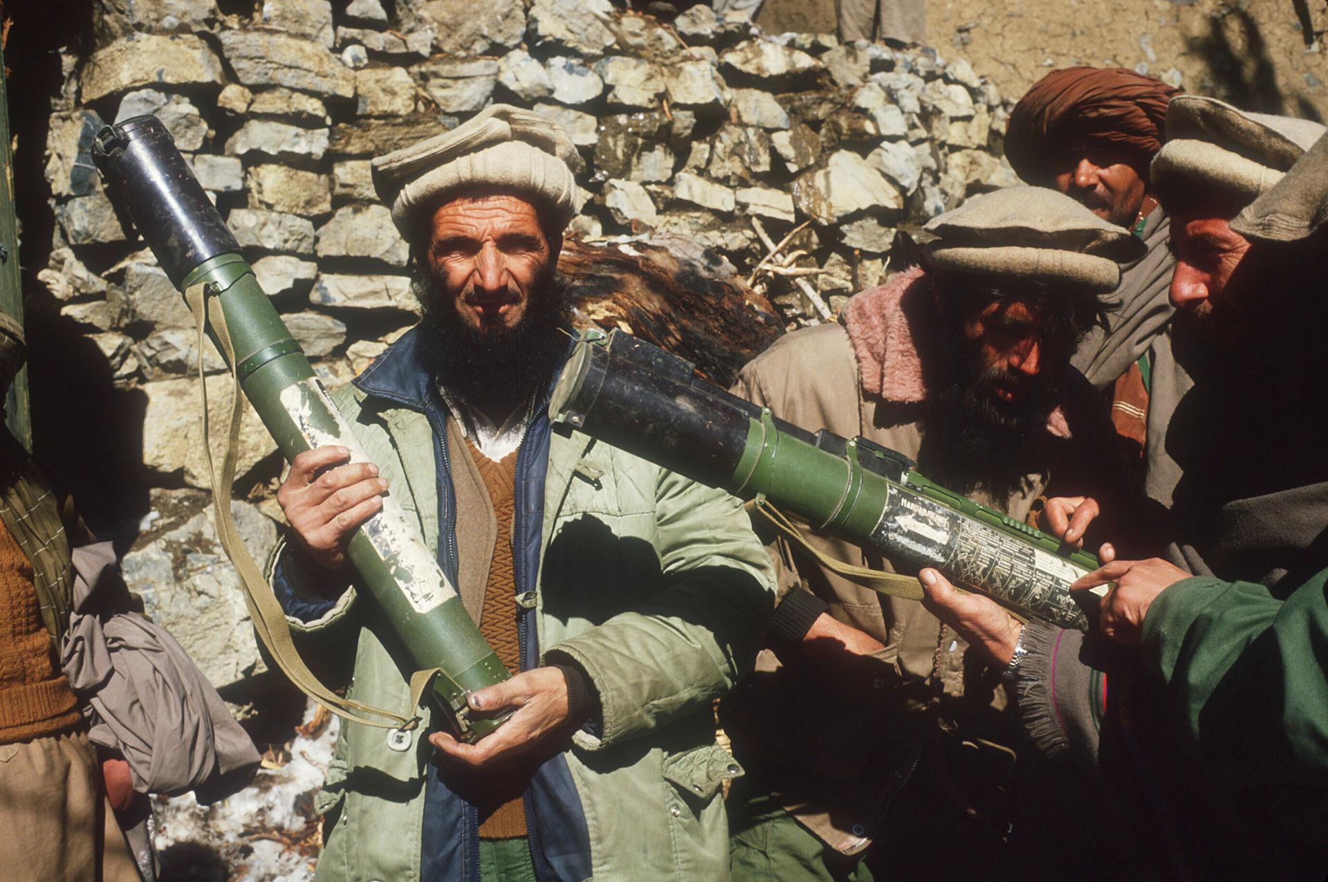 Mujahidin Afganistan.