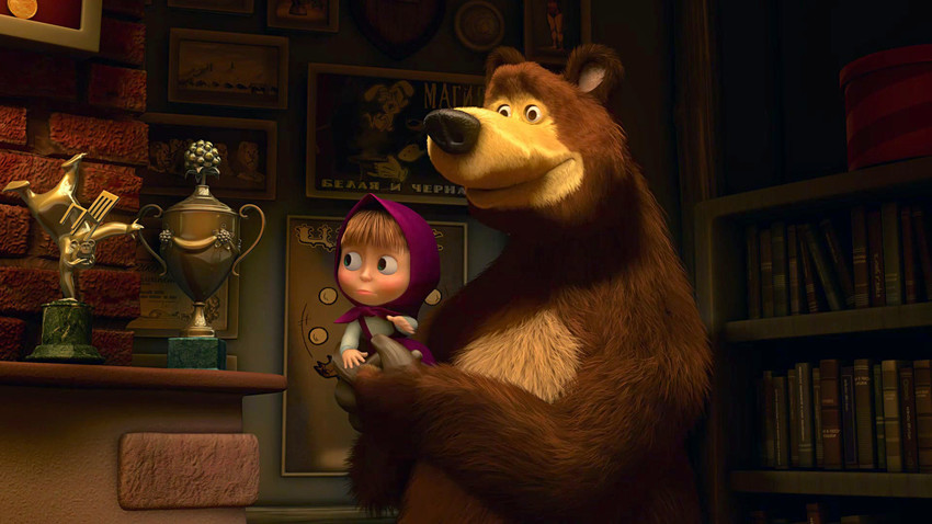 masha and the bear english episodes download