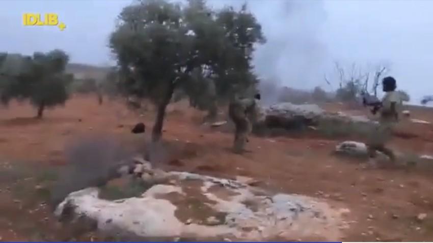 Сриншот видео-снимка.