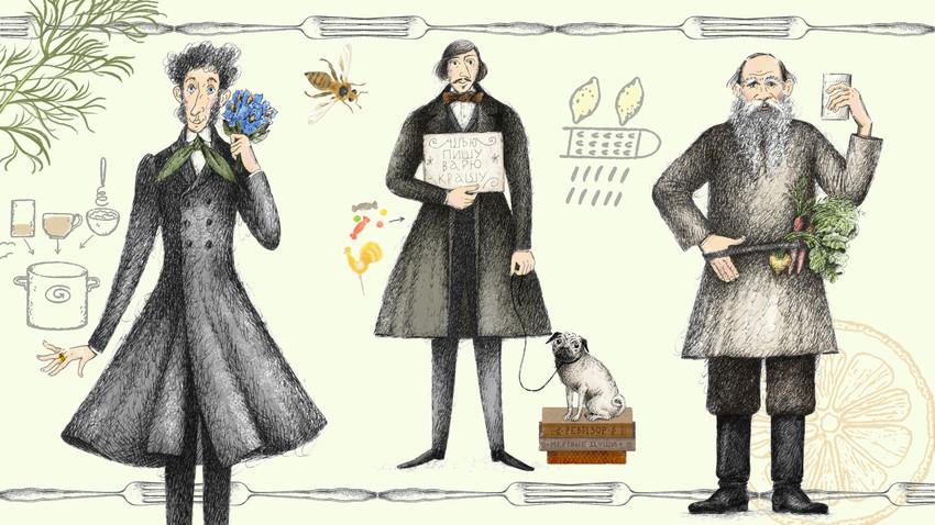 """""""Сельодка с телешко. Книга за храната, писателите и рецептите"""", Елдар Оруджев."""