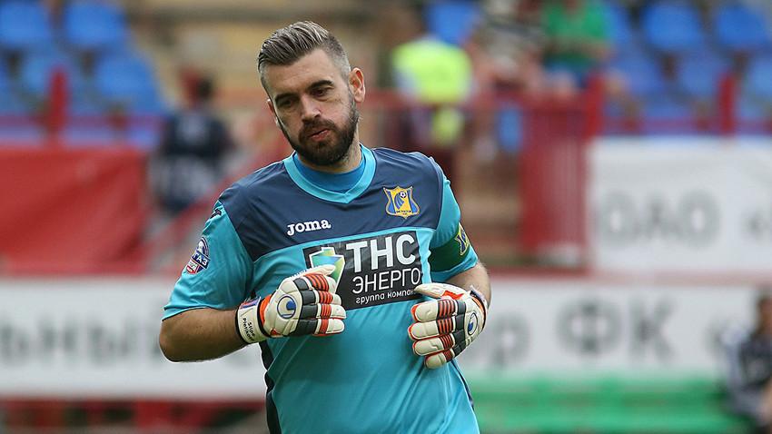 Stipe Pletikosa na utakmici Lokomotiv - Rostov