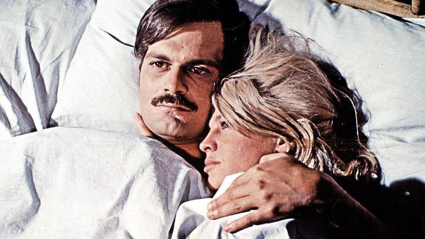 Fotograma de la película 'Doctor Zhivago' (1965).