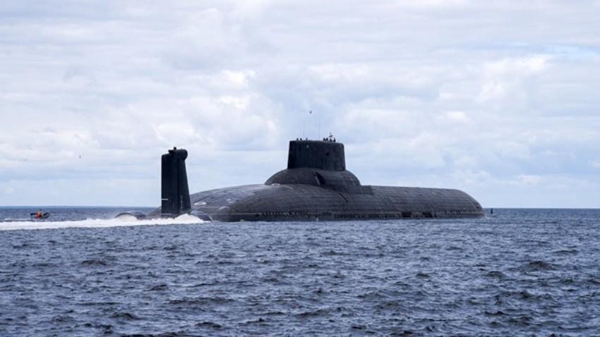 Jedrske podmornice tipa Akula veljajo za največje na svetu.