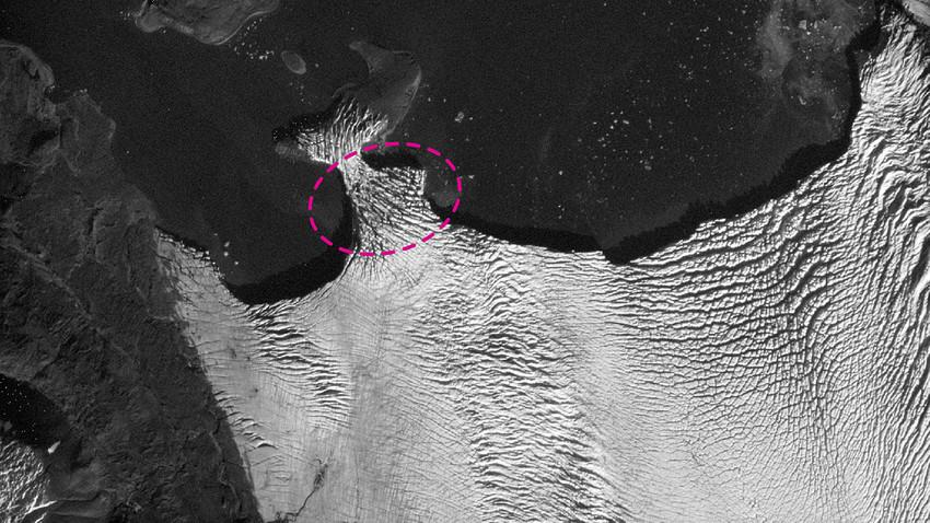 Arquipélago de Nova Zembla está situado entre os mares de Barents e de Kara