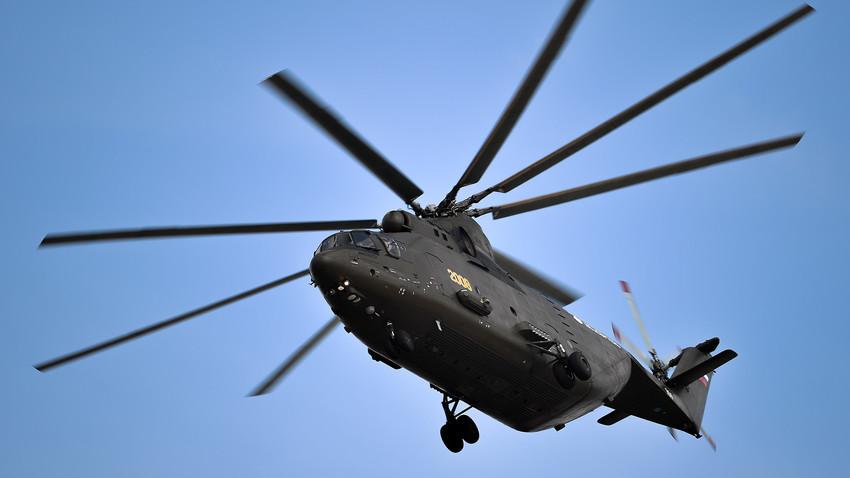 Helicóptero Mi-26 T2.