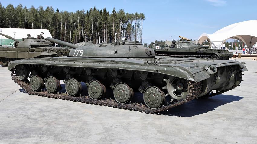 "Eksperimentalni tenk ""Objekt 775""."