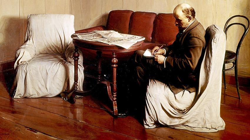 Ljenin u Smoljnom (slikar Isaak Brodski)