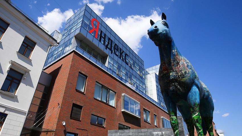 Yandex-Zentrale in Moskau