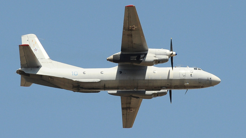 Avión An-26.
