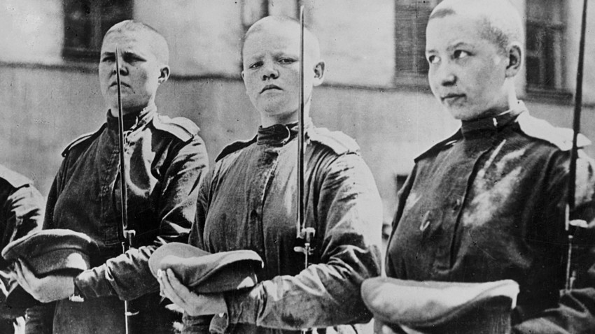 womens role in world war 1 in the united states