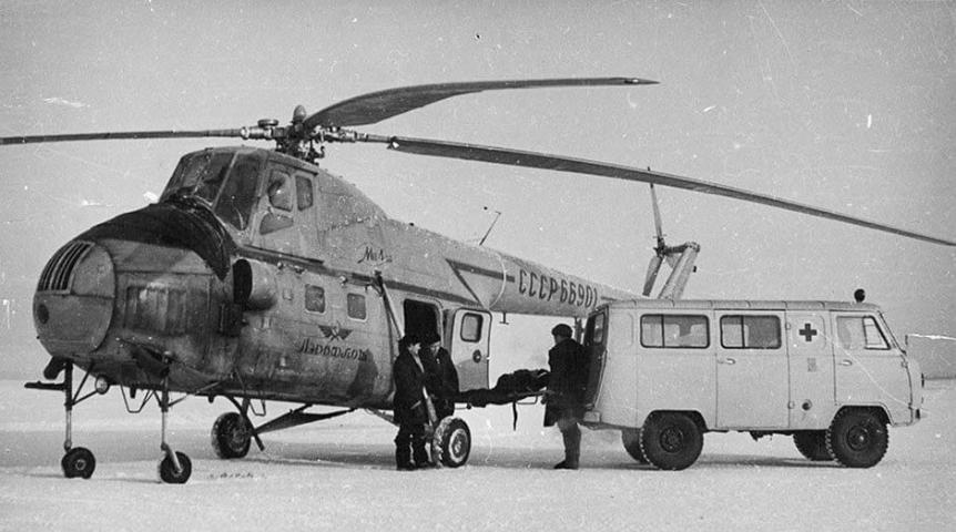 UAZ-450 na skrajnem Severu.