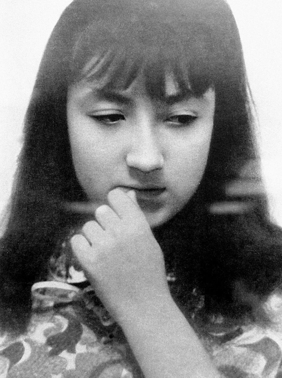 La artista Nadia Rúsheva (1952-1969).