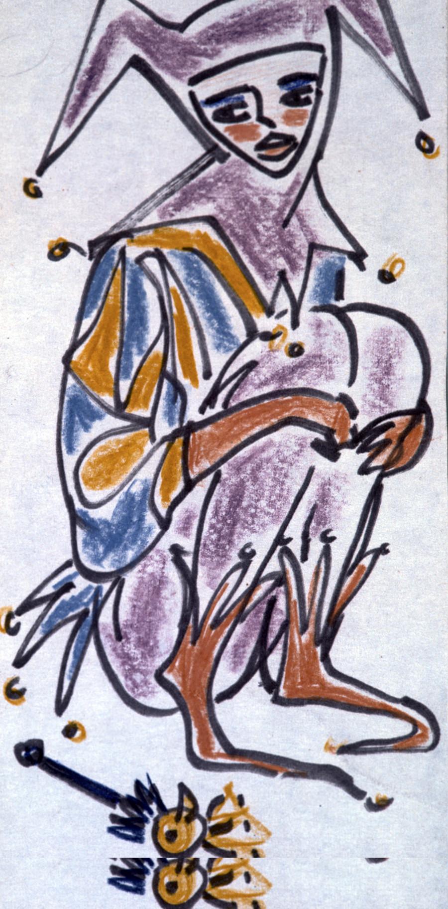 シェイクスピアの作品のための挿絵、1968年(15歳)