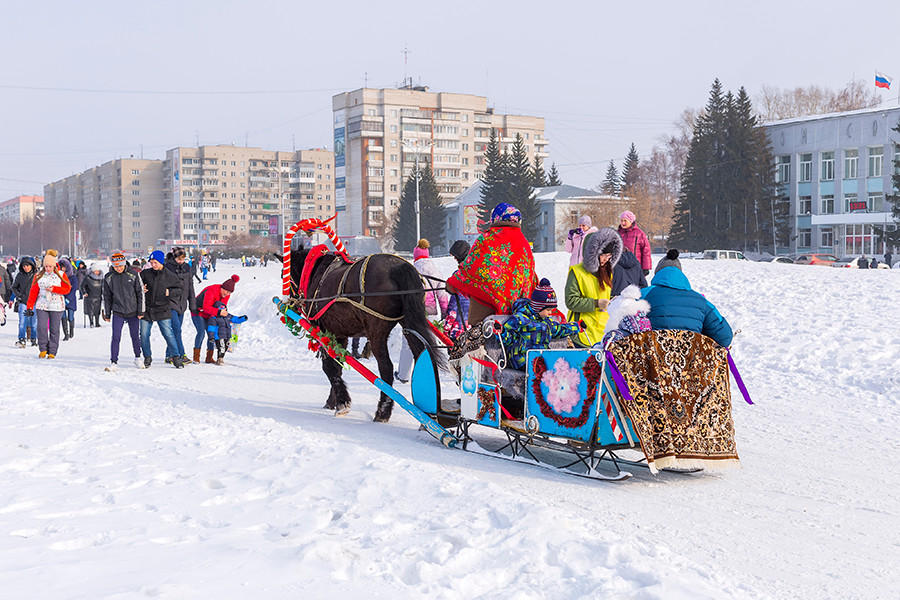 Kolomenskoye will host a run for sleigh rides
