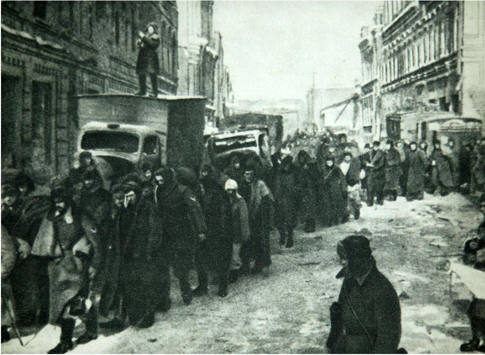 Tekom stalingrajske bitke je bilo ujetih 91.000 nemških vojakov.